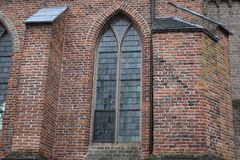 Old church in small village stock photography