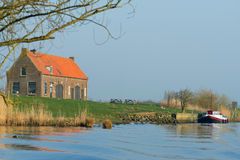 Old Dutch farmhouse Royalty Free Stock Images