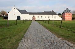 Old Dutch Farmhouse stock photo