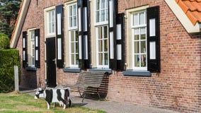 Old Dutch farmhouse Stock Photography