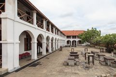 Old Dutch Hospital, Fort Galle - Sri Lanka royalty free stock photos