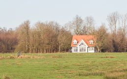 Old dutch house Stock Images
