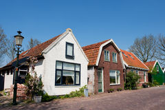 Old Dutch houses Royalty Free Stock Photos