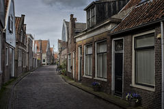 Old Dutch houses Stock Images
