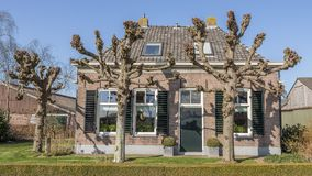 Old Dutch houses Royalty Free Stock Images