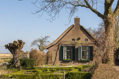 Old Dutch houses Stock Photography