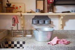 Old Dutch kitchen Stock Image