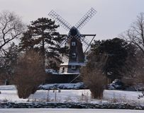 The Old Dutch Mill Royalty Free Stock Photo