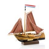 Old Dutch sailboat Royalty Free Stock Image