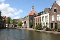 Old Dutch Street Stock Photo
