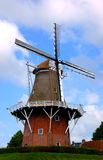 Old dutch windmill in dokkum Royalty Free Stock Image