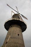 Old dutch windmill. One of the 5 tallest classic windmills of the world Royalty Free Stock Photography