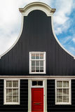 Old Dutch wooden house in North Amsterdam Stock Photos
