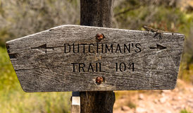Old Dutchman's Trail royalty free stock photography
