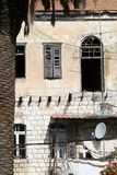 Old dwelling-houses in Bethlehem Royalty Free Stock Image