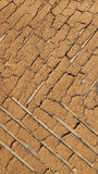 Old earthen wall, background texture Royalty Free Stock Images