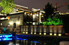 The old east gate at night. In nanjing china Stock Images