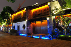 The old east gate at night. In nanjing china Stock Photos
