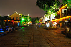 The old east gate at night. In nanjing china Stock Photo