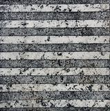 Old east striped tile marble texture Royalty Free Stock Images