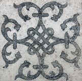 Old east tile marble texture royalty free stock images