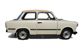 Old Eastern Europe car. royalty free stock photo