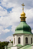 Old Eastern Orthodox St. Sofiia church in Kyiv Royalty Free Stock Images