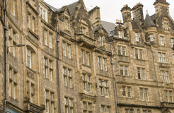 Old Edinburgh, Scotland Royalty Free Stock Photography