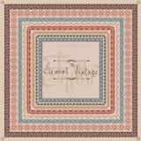 Old egde vintage pattern Stock Images
