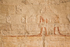 Old egypt hieroglyphs Stock Image