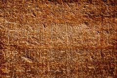 Old egypt hieroglyphs Royalty Free Stock Photo