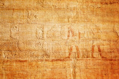 Old egypt hieroglyphs carved on the stone Royalty Free Stock Image