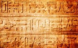 old egypt hieroglyphs Stock Images
