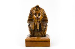 Old Egyptian pharaoh Statue Stock Images