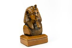 Old Egyptian pharaoh Statue Stock Photography