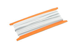 Old elastic band roll Royalty Free Stock Images