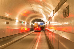 Old Elb Tunnel Stock Photo