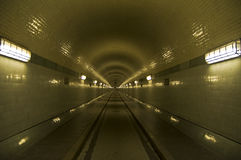 Old Elbtunnel Royalty Free Stock Photo