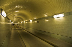 Old Elbtunnel Stock Images