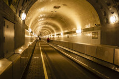 Old Elbtunnel in Hamburg, Germany, editorial Stock Images