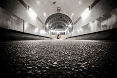 Old elbtunnel Royalty Free Stock Image
