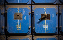 Old electric box Stock Photography