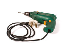 Old electric drill Royalty Free Stock Image