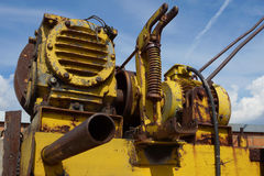 Old electric engine Royalty Free Stock Photography
