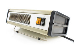 Old electric heater Stock Image