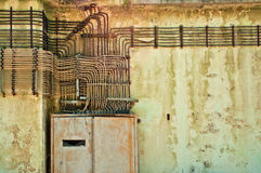 Old electric installations Royalty Free Stock Images