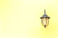 Old electric lamp. Royalty Free Stock Photography