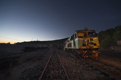 Old electric locomotive Stock Photography