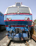 Old electric locomotive 3 Royalty Free Stock Photo