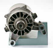 Old electric motor Stock Photo